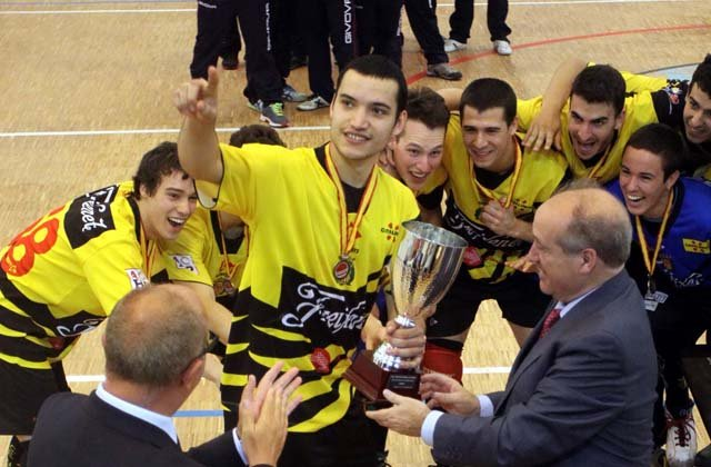 L'equip Júnior del Noia, campió d'Espanya el 2014