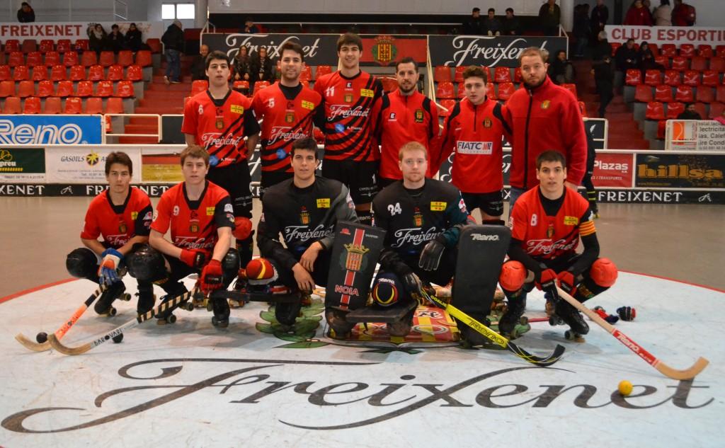 Segon equip del Noia Freixenet, temporada 2016/17 (foto: cenoia.com)